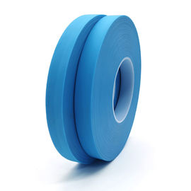 20mm*200m Blue Waterproof Non Woven Fabric Hot Air Seam Sealing Tape For Protective Suit