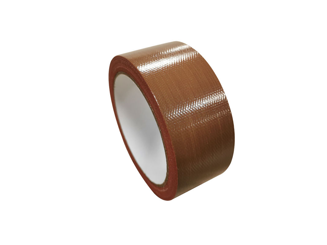 70 Mesh 250 Mic Thickness red Color Cotton Cloth Duct Tape For Exhibition Carpet Joint